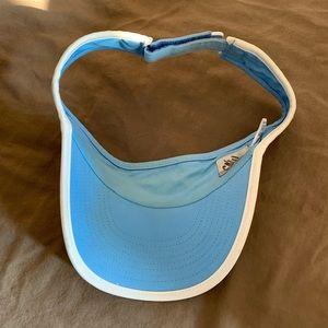 Nike Accessories - Nike Light Blue Visor Hat